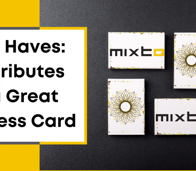 11 Attributes of a Great Business Card