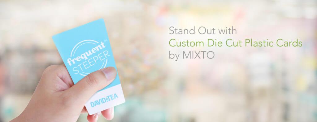 custom die cut cards by mixto