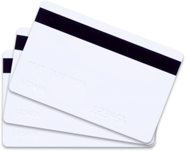 Plastic cards for card printer