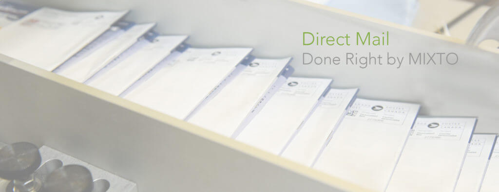 Direct mail print production and kitting